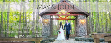 May & John – Stroudsmoor Country Inn Wedding Highlight Film – Woodsgate