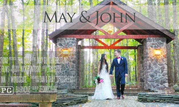 May & John – Stroudsmoor Country Inn Wedding Highlight Film – Woodsgate