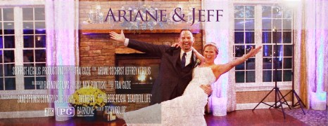 Ariane & Jeff – Sand Springs Country Club – Wedding Highlight Film – Drums PA