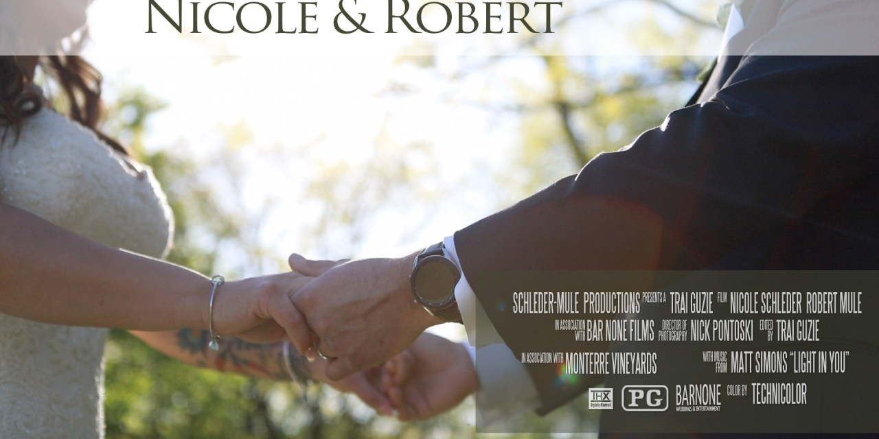 Nicole & Robert – Monterre Vineyards – Wedding Highlight Film – Lehigh Valley PA