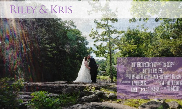 Riley and Kris – The Woodlands – Wedding Highlight Film – Wilkes-Barre PA
