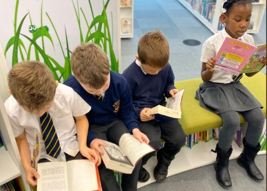 Year 2 enjoyed visiting the new library in Barnsley.