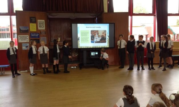 Year 5's own Collective Worship