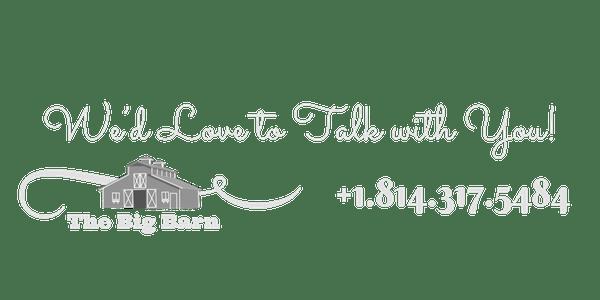 Contact Us - The Big Barn