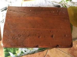 Custom Matching Fourth Shelf in solid barn wood- 12x10x2