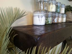 Reclaimed Floating Shelves 8x3 / Barn Wood Rustic Shelf / Wall Shelf / Open Shelving / Farmhouse Shelving / Backwoods Ledge Shelf / Mantel