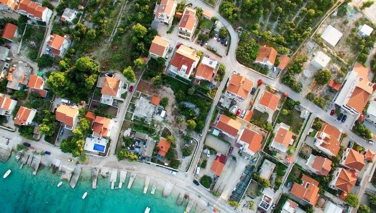 aerial neighbourhood
