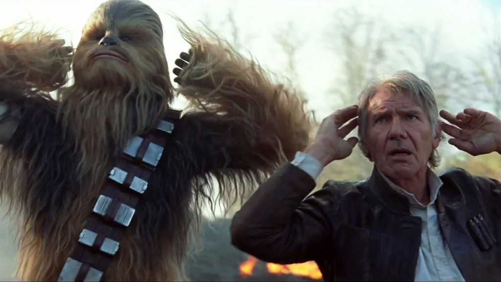 Han Solo e Chewbacca Star Wars