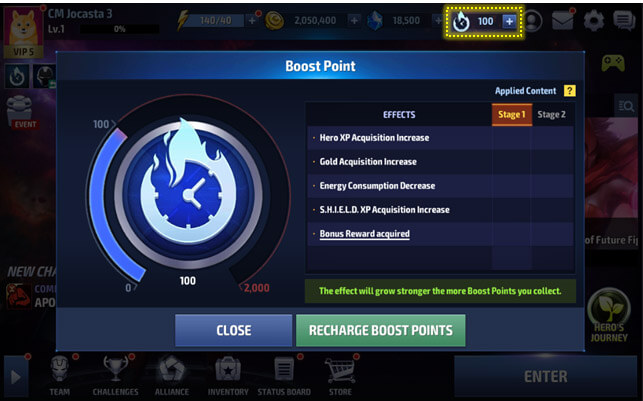 boost points Era de Apocalipse MFF