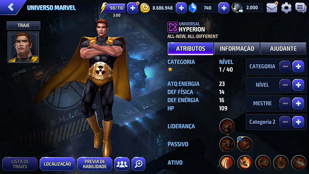 Hyperion Marvel Future Fight