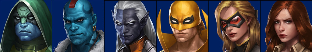 Trajes Marvel Future Fight 2.2