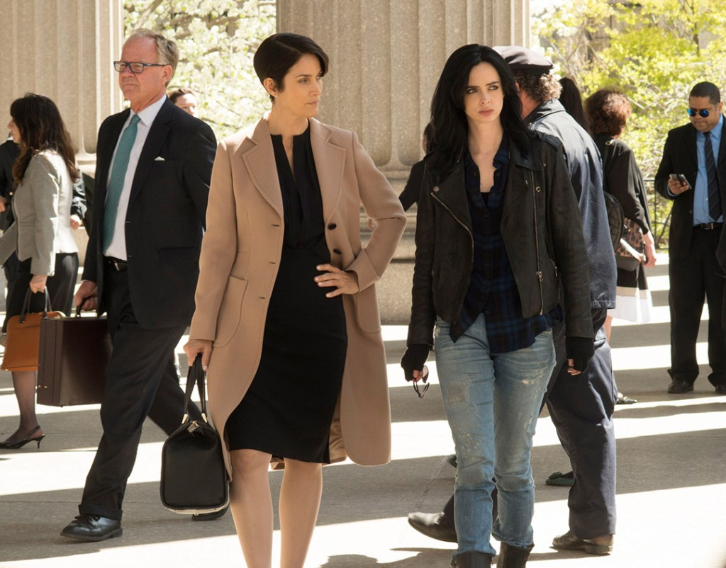 Carrie-Ann Moss Jessica Jones
