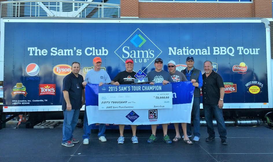 Outlaw Hogs BBQ of St. Louis. 2015 Winners of the Sam's Club National Tour. $50k prize!