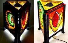 Mosaic Zelda Spiritual Stone Lamp
