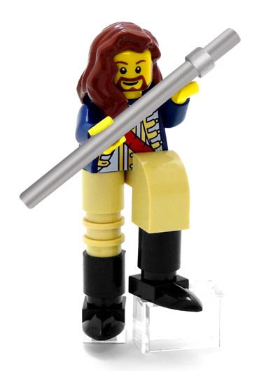 Ian Anderson Jethro Tull LEGO minifig