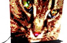Mosaic Tiggs Portrait/Lamp