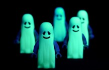 Glow-in-the-Dark Ghosts