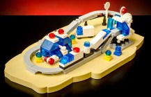 Monorail Transport System Microscale