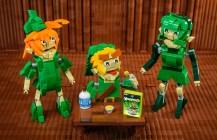 LEGO Zelda Cereal Diorama