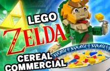 LEGO Zelda Cereal Commercial