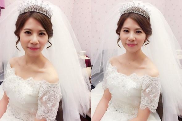 新娘秘書, 新娘造型, 韓系, 鮮花造型, 光澤肌, 歐美, 清新自然, 時尚, 白紗造型