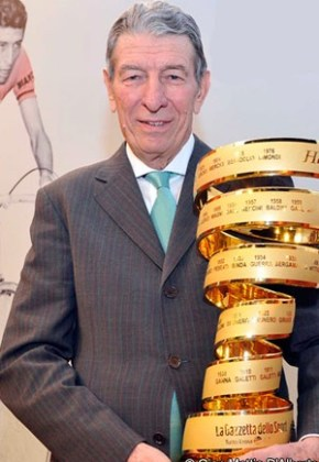 Gimondi in the Giro Hall of Fame