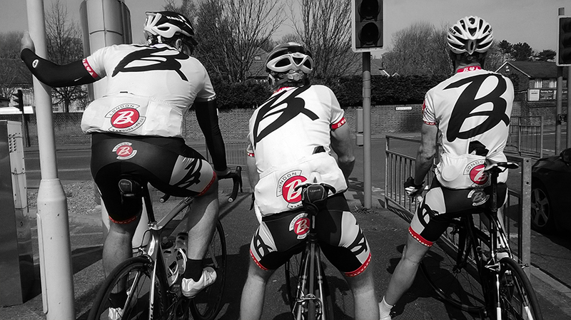 London Baroudeurs - riding with friends and heroes