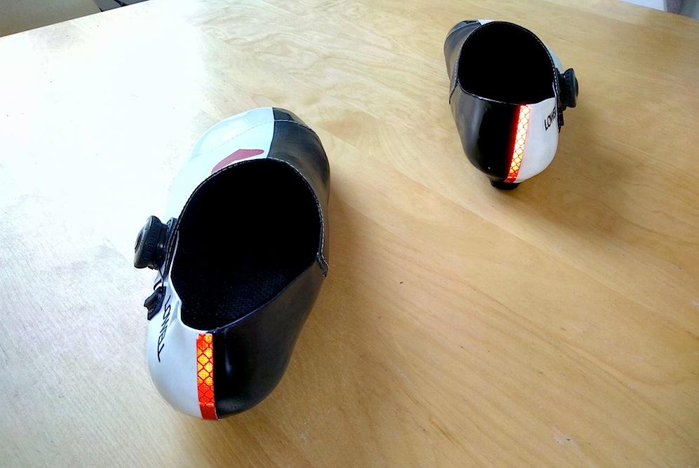 Full Carbon Custom Shoe by Jack Lee - Hot reflective heels