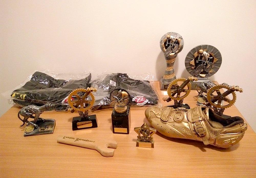 Awards Night - trophies galore