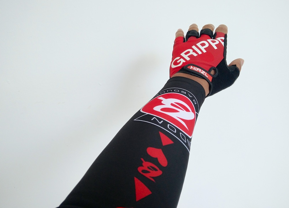 Hirzl Grippp Tour SF gloves - getting a grippp