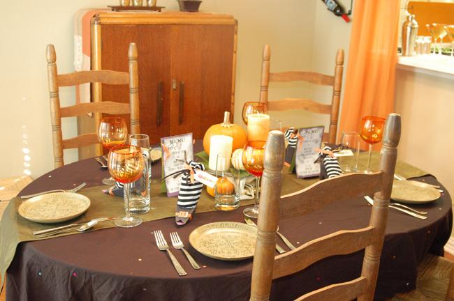 ghoul's night in halloween dinner