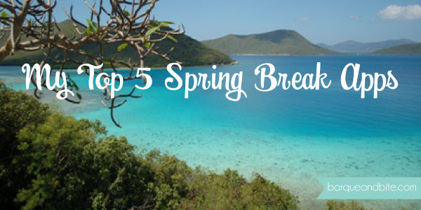Top 5 Spring Break iPhone Apps