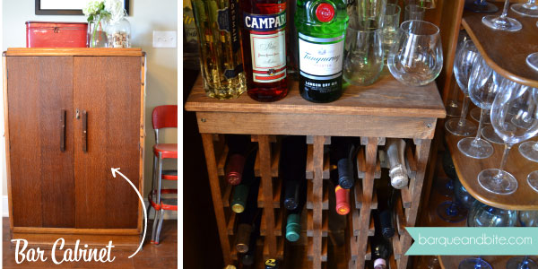 Hidden Bar Cabinet