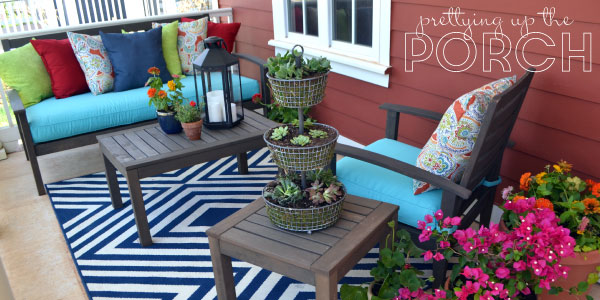 Prettying up the Porch