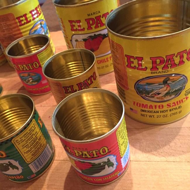 salsa cans
