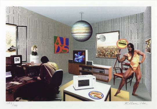 Just what is it that makes today's homes so different? 1992 by Richard Hamilton 1922-2011