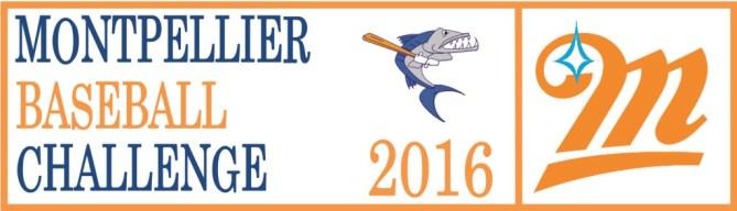 Montpellier baseball challenge - Brouillon logo