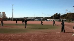 Intiation baseball collège