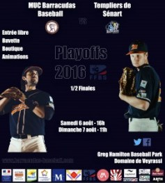Playoffs 2016 - vs Sénart