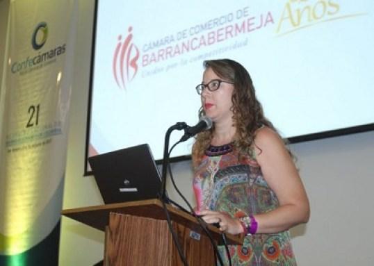Resultado de imagen para Pilar Adriana Contreras, Presidente Ejecutiva de la Cámara de Comercio de Barrancabermeja