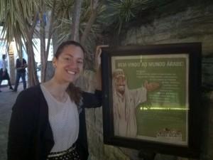 Luana Prazeires gostou tanto do passeio que fez um post em seu blog