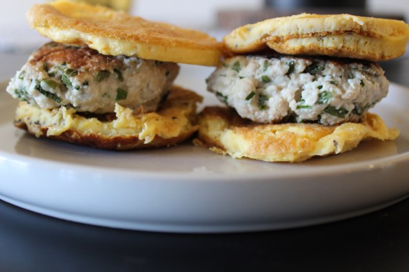 Whole30 Sausage Egg Sandwich