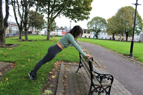 Park Bench Barre - Plank