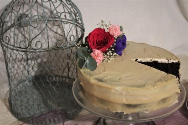 Clarity - Paleo Chocolate Wedding Cake