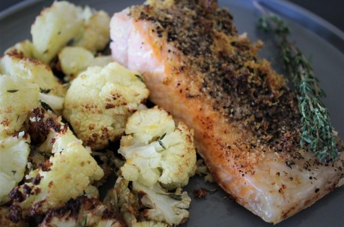 Lemon Pepper Salmon