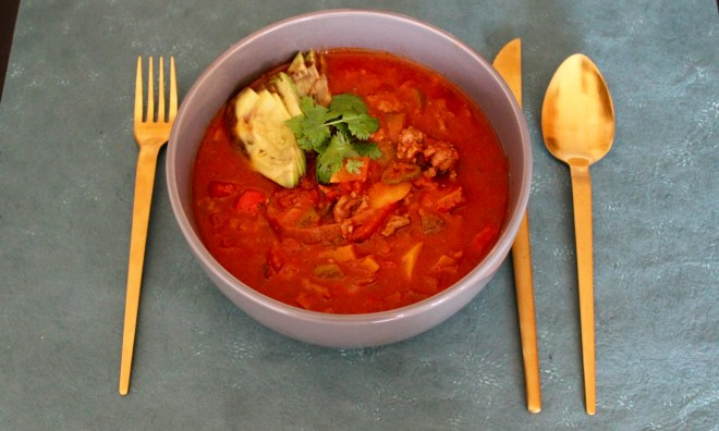 One Word Theme and Whole30 Chili