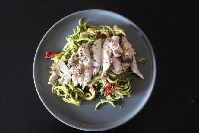 Consistent-Whole30 Chicken Pesto Pasta