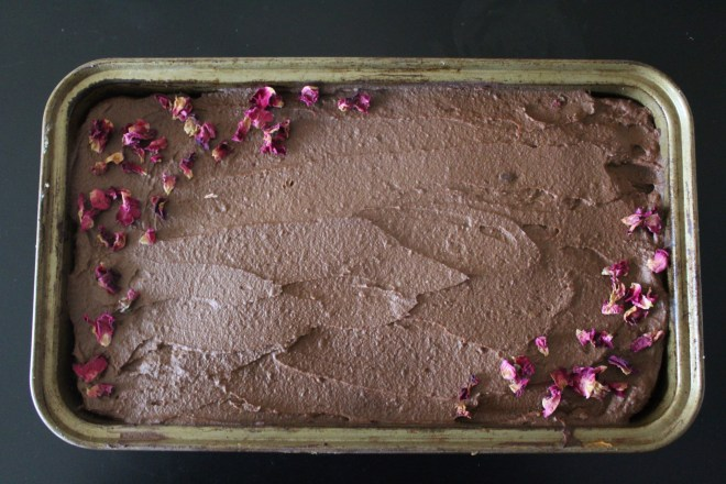 Savor - Paleo Brownies with Sweet Potato Chocolate Frosting