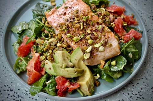 September Studio Whole30 - Whole30 Salmon Summer Salad