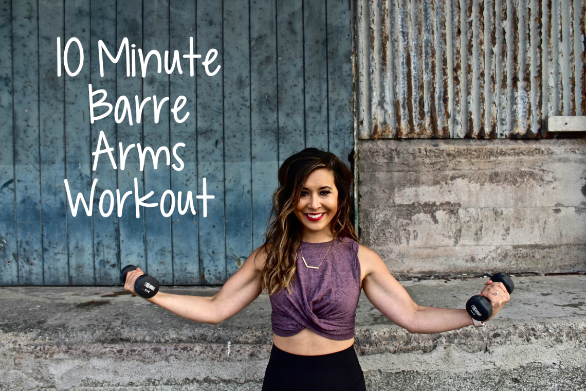 10 Minute Barre Arms Workout